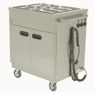 Mobile Hot Cupboard Bain Marie Top - Parry msb