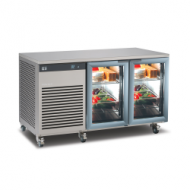 Foster EcoPro 2 door counter with glass doors
