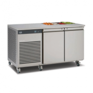 Foster EcoPro 2 door counter fridge with saladette
