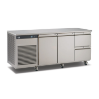 Foster EcoPro 3 door counter with drawers G2 EP1/3