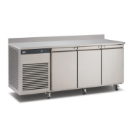 Foster EcoPro 3 door counter refrigeration with upstand