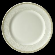 Antoinette Plate Gold Decoration 30cm