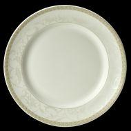Antoinette Vogue Plate Gold Decoration 27cm
