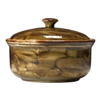 Steelite Craft Casserole Lid Brown