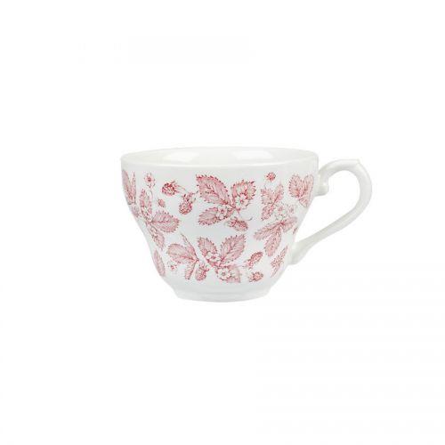 Cranberry Bramble Georgian Teacup 7oz