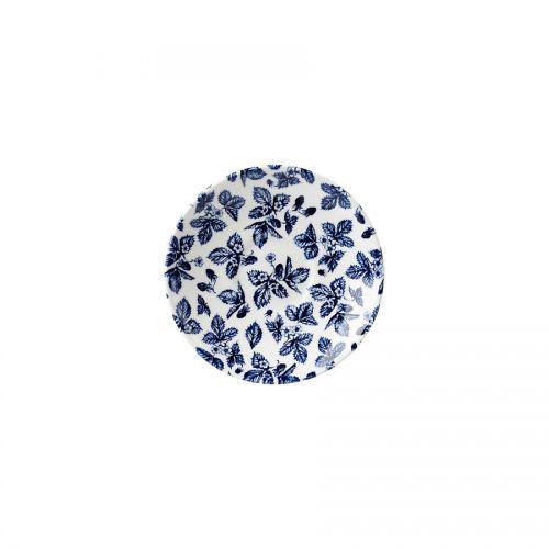 Blue Bramble Georgian Saucer 14.1cm 5.5in