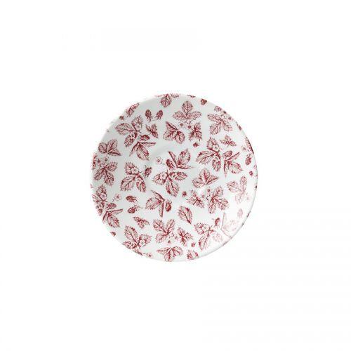 Cranberry Bramble Georgian Saucer 14.1cm 5.5in