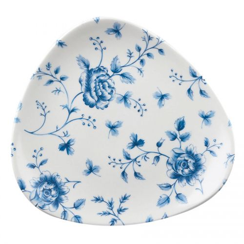 Lotus Triangle Plate 7.75 inch