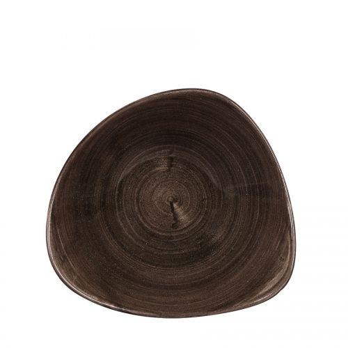 Stonecast Patina Iron Black Triangle Bowl 21oz