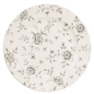 Rose Chintz Grey Grey Rose Chintz Plate 10 7/8 inch