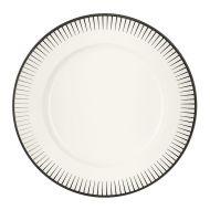 Ginseng Black Dinner Plate 28.5CM