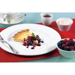 Super Vitrified White Cups Saucers Plates & Dishes