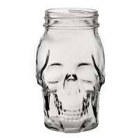 Skull Jar 17.5oz 50cl