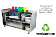 Tray Clearing & Recycle Station by Moffat