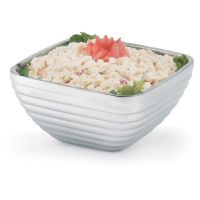 Square Beehive Bowl 3ltr Square Stainless Steel