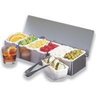 Garnish Dispenser 5 Compartments