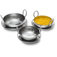 Balti Pan Stainless Steel 16.5cm