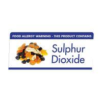 Allergen Buffet Notice Sulphur Dioxide