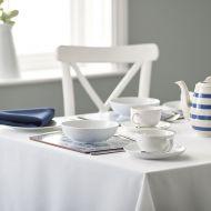 Plain Weave Black Tablecloth 137/137cm (54/54 inch)