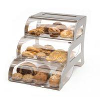 Bakery Case 3 Tier S/S Frame
