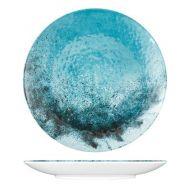 Blue Larnaca Sand Melamine Dinner Plate Dia 270x25mm