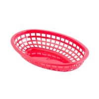 Classic Oval Baskets, Red