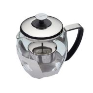 1 Litre Stainless Steel Teapot with Infuser Press