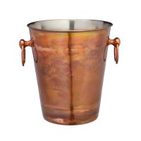 Wine & Champagne Bucket Iridescent Copper Finish