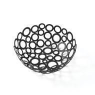 Basket Go Go Round Black 8 Inch Diameter