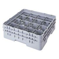 Camrack Glass Rack 16 Compartments Cranberry