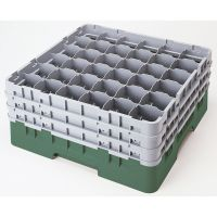 Cambro Camrack Glass Rack 36 Compartments Grey