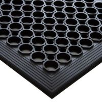 Interlocking Floor Matting Black