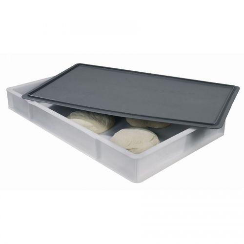 Dough Box Stackable Poly 76.2 x 45.7 x 9.2cm