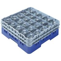 Cambro Camrack Glass Rack 25 Compartments Green