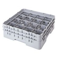 Cambro Camrack Glass Rack 16 Compartments Green