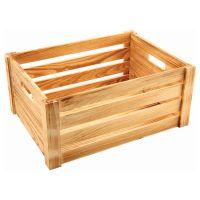 Wooden Crate Burnt Finish 41 x 30 x 18cm