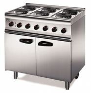 Lincat 6 Ring Electric Oven Range - Single Phase