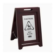 Executive Wood Safety Sign