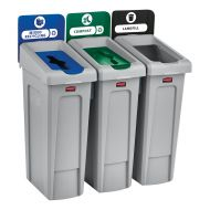 87 Litre Recycling Bin 3 Stream Bundle
