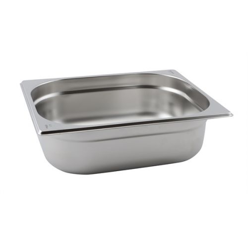 St/St Gastronorm Pan 1/2 - 40mm Deep