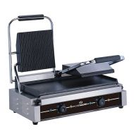 Chefmaster Double Contact Grill - Ribbed/Flat