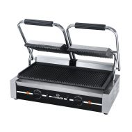 Chefmaster Double Contact Grill - Ribbed