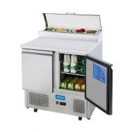 Arctica 2 Door Refrigerated Saladette Counter