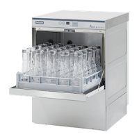 Halcyon Amika 55XL-WSD Glass Washer