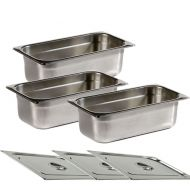 Chefmaster Gastronorm Containers For Bain Marie