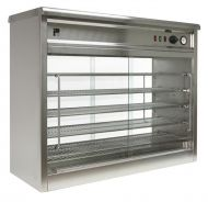 Pie Cabinet glass front and back Parry PC140G