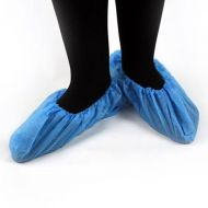 Blue CPE Single Use Hygene Workwear Overshoes