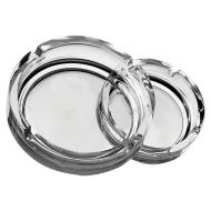 Small Clear Stackable Ashtray 4.25 inch10.7cm