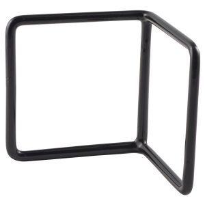 Black Anti-Slip L Shape Riser 10x10x10cm