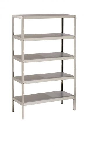 Shelving unit 5 shelves fully assembled from Parry